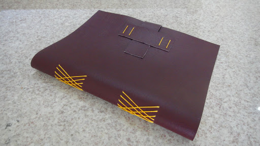 Caderninhos em couro
